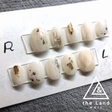 たさわのブライダルネイル♪#theLand.m