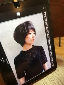 natural short style☆久居