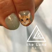 リアル猫ちゃんネイル
