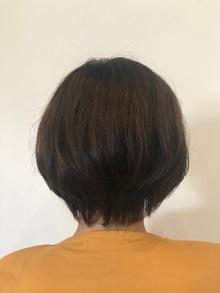 髪質改善×ショートボブ。久居