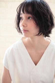 柔らかパーマ☆アッシュ☆大上美奈子