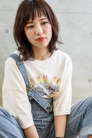 外ハネ☆ミディアム☆大上美奈子