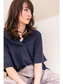 ミディアム☆ブラウンカラー☆大上美奈子