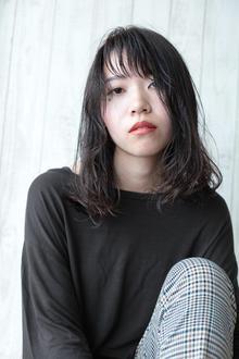 ウェットスタイル☆ダークアッシュ☆大上美奈子