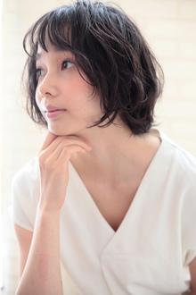 柔らかパーマ☆ボブスタイル☆大上美奈子