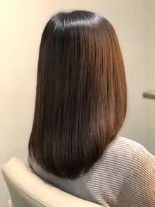 冬の乾燥に髪質改善