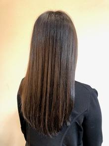 髪質改善でリセット