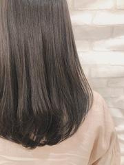 オススメ!暗めでも透明感のあるヘアカラー!
