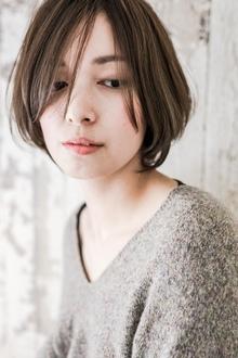 ナチュラル☆ボブスタイル☆大上美奈子