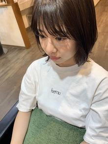 前髪で変わります☆大上美奈子