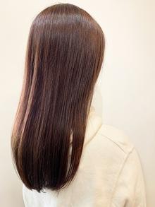 菊岡blog【カラー編】流行りのピンクブラウン♪
